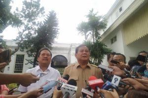 Menhan Prabowo Subianto (kompas.com/ihsanuddin)