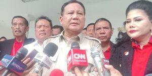 Menhan Prabowo di Acara Pameran Alutsista Dalam Negeri. (Merdeka.com:Ronald Chaniago)
